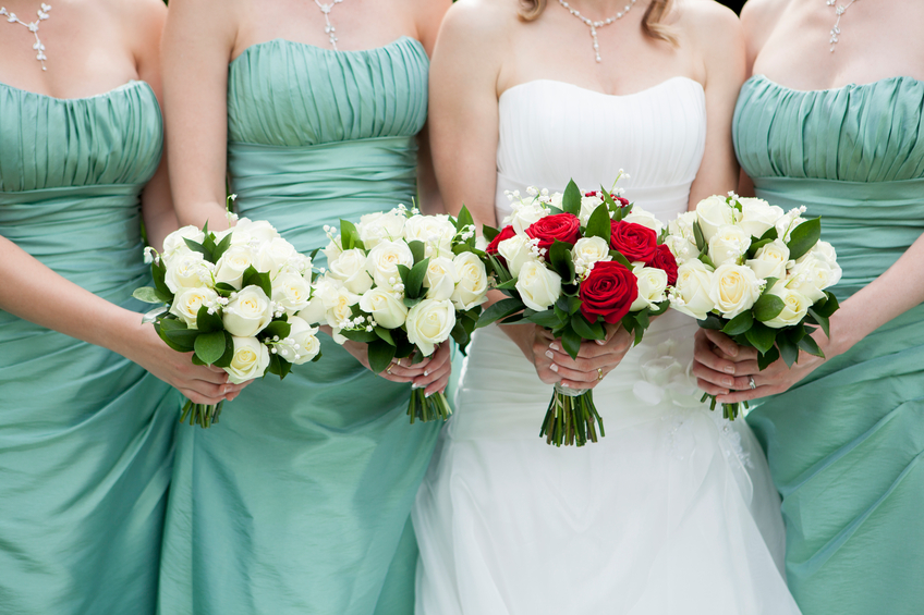 Dress Alterations Garden City MI - Ideal Bridal & Dry Cleaning - bride_and_bridesmaids
