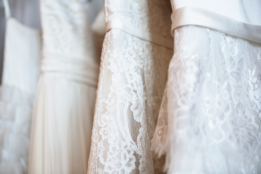 Dress Alterations Farmington MI - Ideal Bridal & Dry Cleaning - wedding_gowns